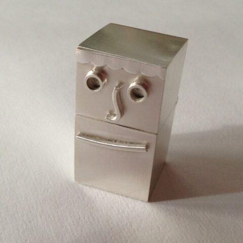 Sam Sterling Silver Box