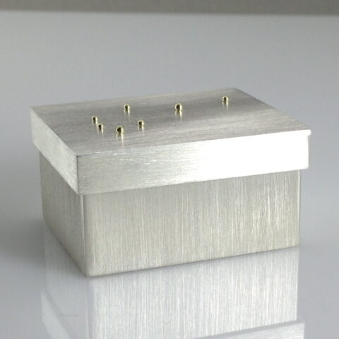 Pleiades Presentation Box In Sterling Silver And Gold
