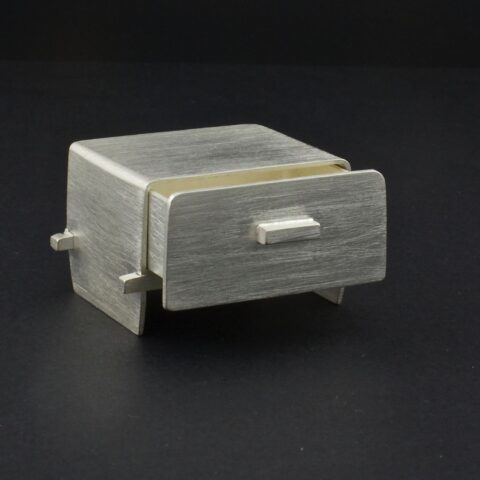 Mission Style Side Table Box